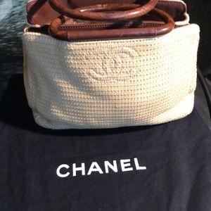 dc8edd55c7cdf6 Women Chanel Straw Bag on Poshmark